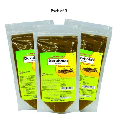 Daru Haldi Powder, 100 gms (pack of 3)