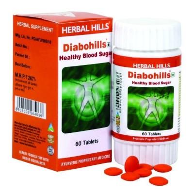 Diabohills, 60 Tablets