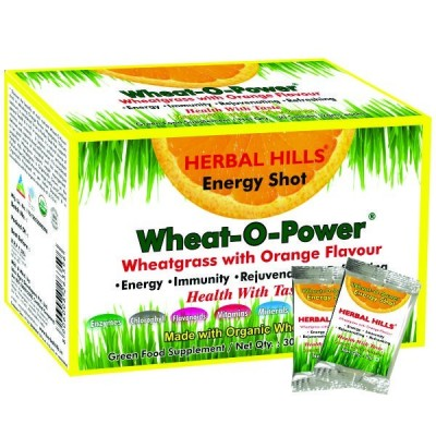 Wheat-O-Power Orange Flavour 2g X 30 Sachets Powder