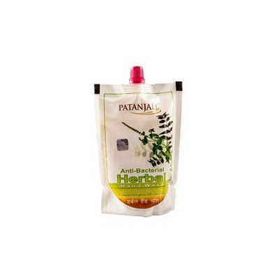 Patanjali HERBAL HAND WASH REFILL PACK, 200 ml