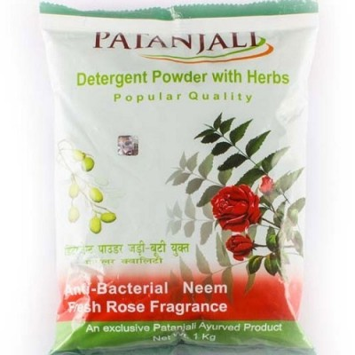 Patanjali POPULAR DETERGENT POWDER, 5 Kg