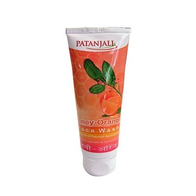 Patanjali Orange Honey FACE WASH, 60 ml