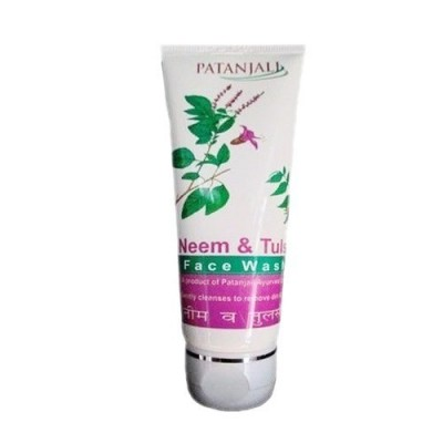 Patanjali NEEM TULSI FACE WASH, 60 ml