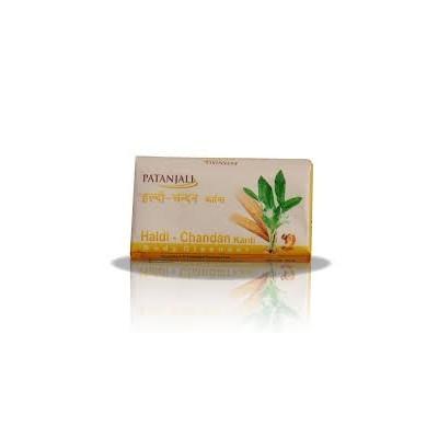 Patanjali SOMYA HALDI CHANDAN SOAP, 75 gm