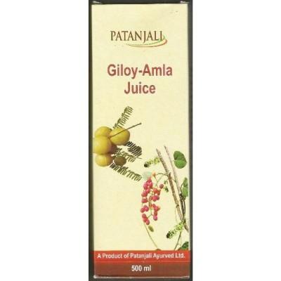 Patanjali GILOY AMLA JUICE, 1000 ml