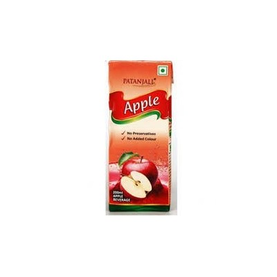 Patanjali APPLE JUICE, 200 ml