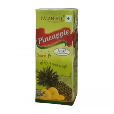 Patanjali PINE APPLE JUICE, 200 ml