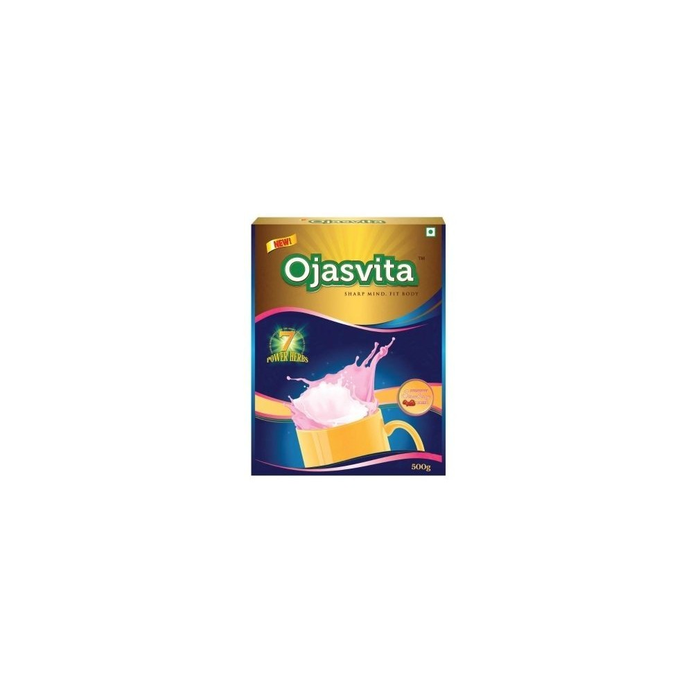 Sri Sri OJASVITA STRAWBERRY BOX REFILL, 500 gm
