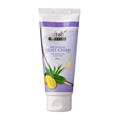 Sri Sri REJUVENATING NIGHT CREAM, 60 ml