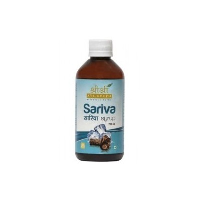 Sri Sri SARIVA SYRUP, 200 ml