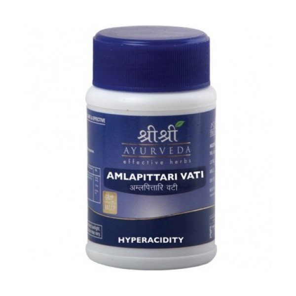 Sri Sri AMLAPITTARI VATI Tablet, 60 Tab