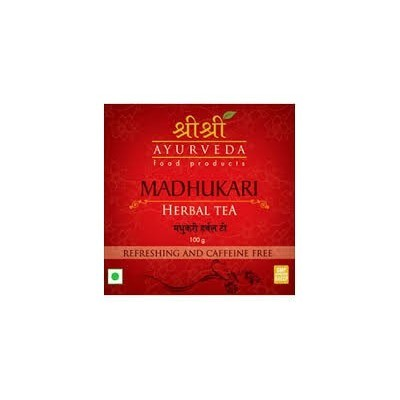 Sri Sri MADHUKARI HERBAL TEA, 100 gm
