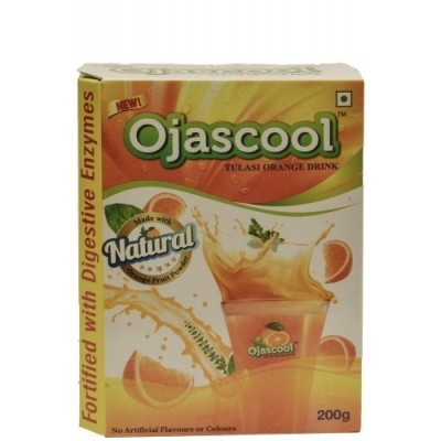 Sri Sri OJASCOOL TULASI ORANGE DRINK REFILL, 200 gm