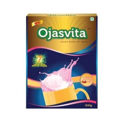 Sri Sri OJASVITA STRAWBERRY REFILL PACK, 1 Kg
