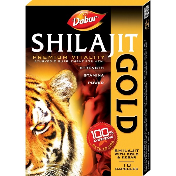 Dabur Shilajit with Gold