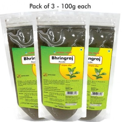 Bhringraj powder, 100 gms (pack of 3)