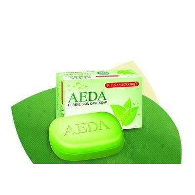 AEDA Herbal Soap Thulsi & Neem, 75gm