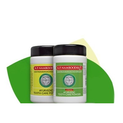 K.P.Namboodiris Ayurvedic Toothpowder Strong, 100gm