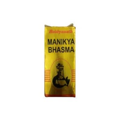 Baidyanath MANIKYA BHASMA, 2.5 GM