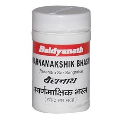 Baidyanath SWARNAMAKSHIKA BHASMA, 2.5 GM