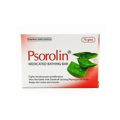 PSOROLIN MEDICATED BATHING BAR, 75 GM