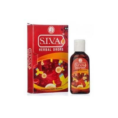 S.I.V.A HERBAL DROPS, 30 ML