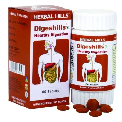 Digeshills, 60 Tablets