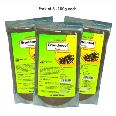 Erandmool Powder, 100 gms powder