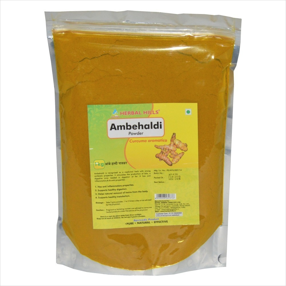 Ambehaldi Powder, 1 kg powder