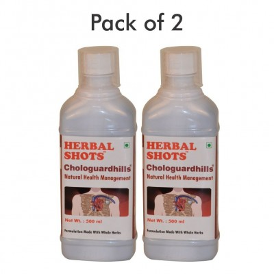 Chologuardhills Herbal Shots 500ml (Pack of 2)