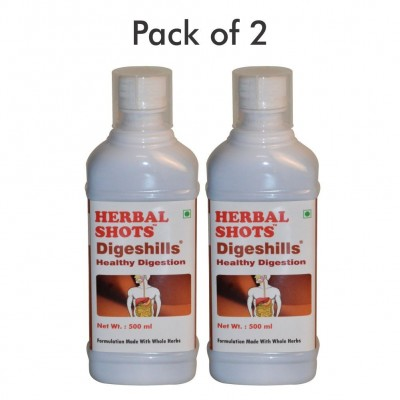 Digeshills Herbal Shots 500ml (Pack of 2)
