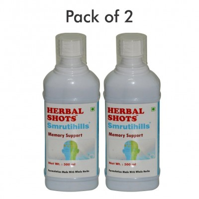 Smrutihills Herbal Shots 500ml (Pack of 2)