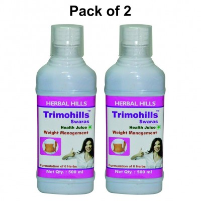 Trimohills Herbal Shots 500ml (Pack of 2)