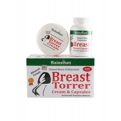 BREAST TORRER CREAM & CAPSULE COMBO PACK