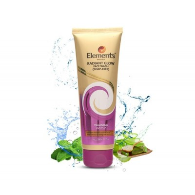 ELEMENTS RADIANT GLOW FACE WASH