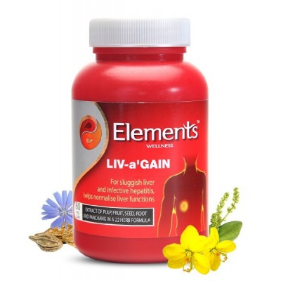 Elements Liv a Gain Capsules