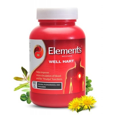 ELEMENTS WELL HART CAPSULES