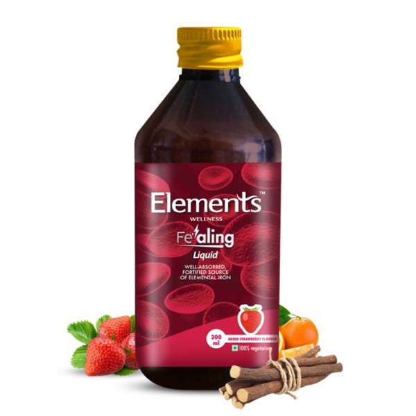 Elements Fealing Iron Syrup