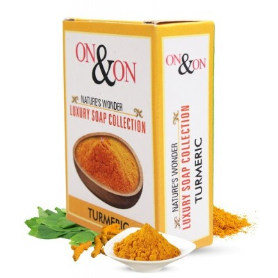 On & On Natures Luxury Turmeric Soap