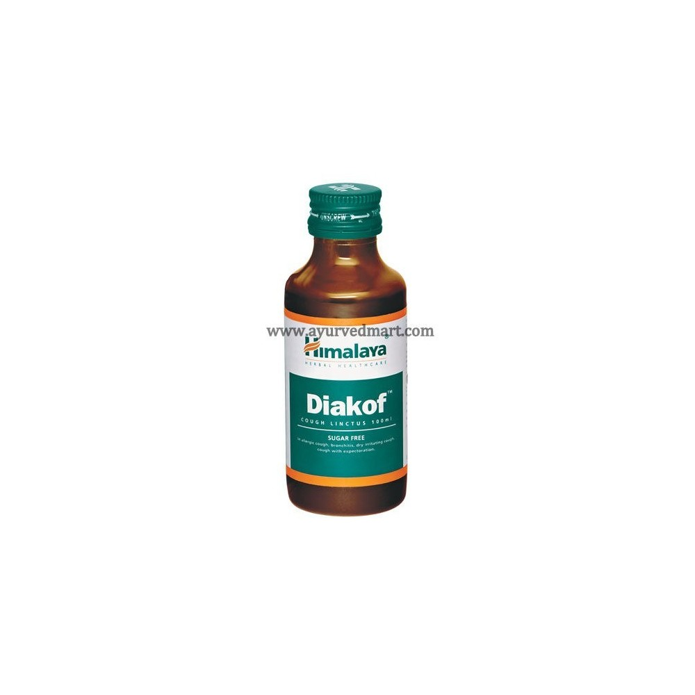 Diakof  Cough Syrup - Sugar Free