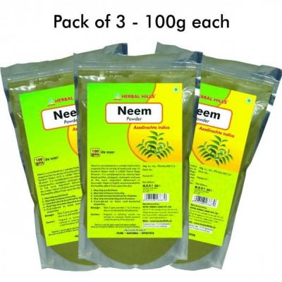 Neem patra powder, 100 gms (pack of 3)