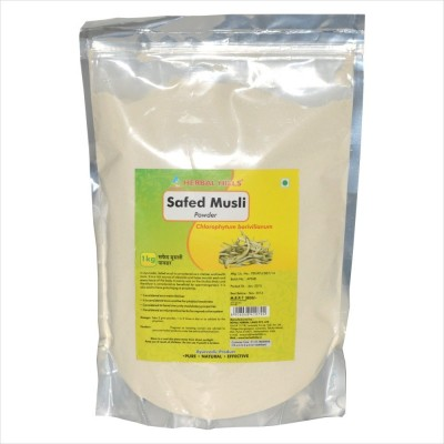 Safed Musli powder, 1 kg powder