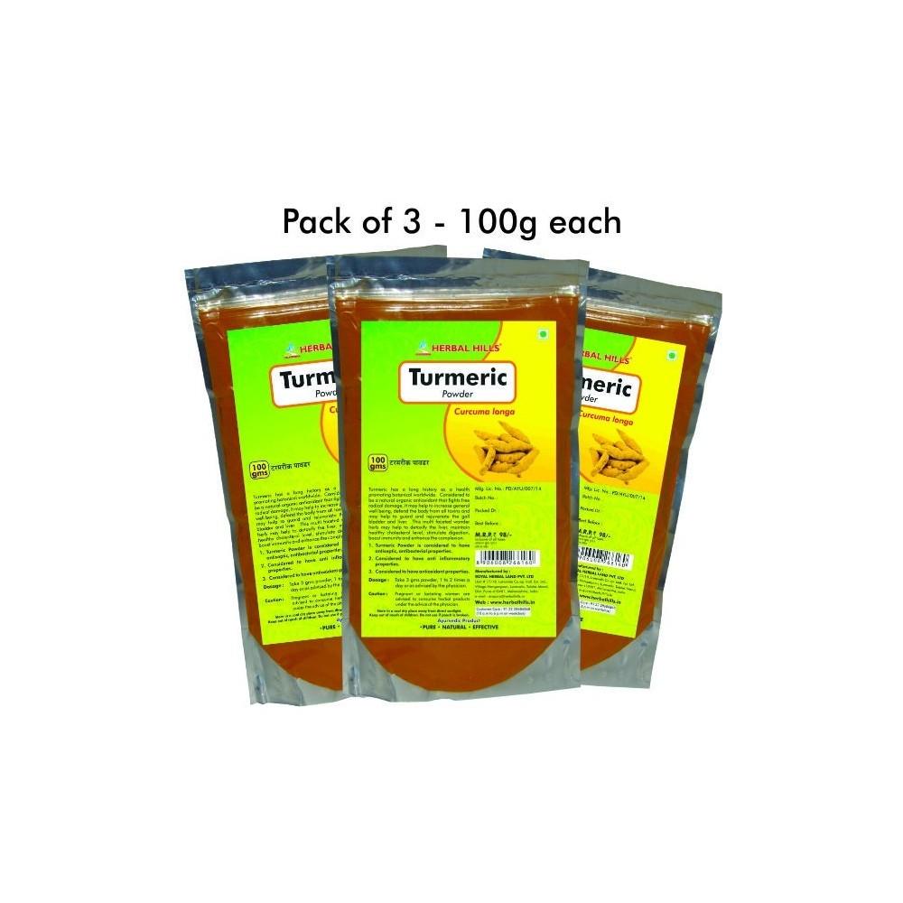 Turmeric Powder, 100 gms powder