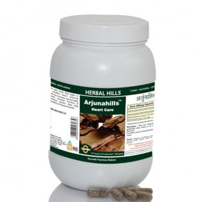 Herbal Hills Arjunahills, 700 Capsule