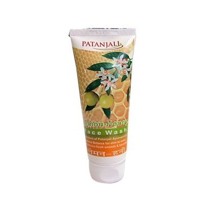 Patanjali LEMON HONEY FACE WASH, 60 ml