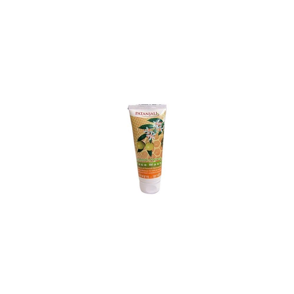 Patanjali LEMON HONEY FACE WASH, 60 ml