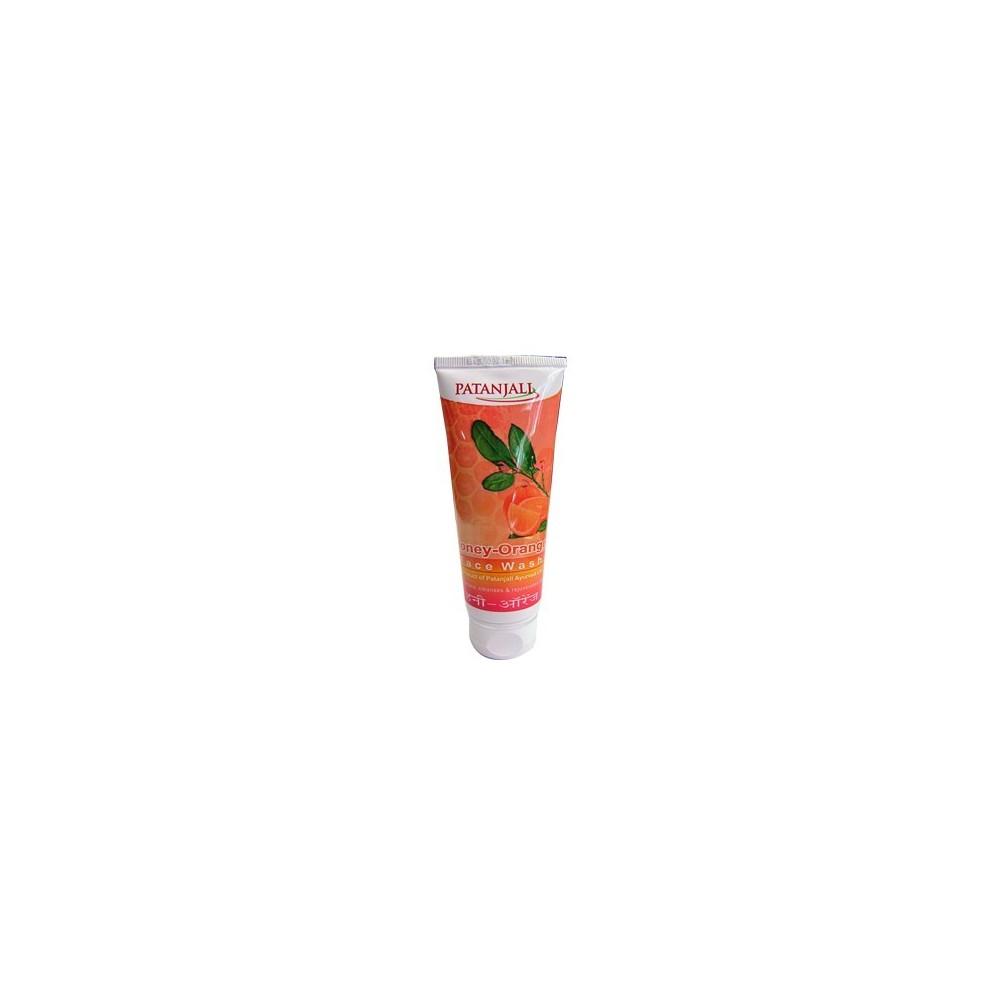 Patanjali Orange Honey FACE WASH, 60 ml