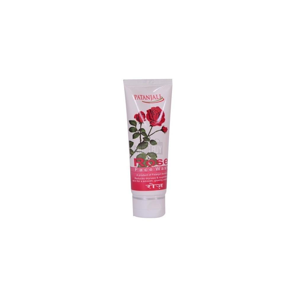 Patanjali ROSE FACE WASH, 60 ml