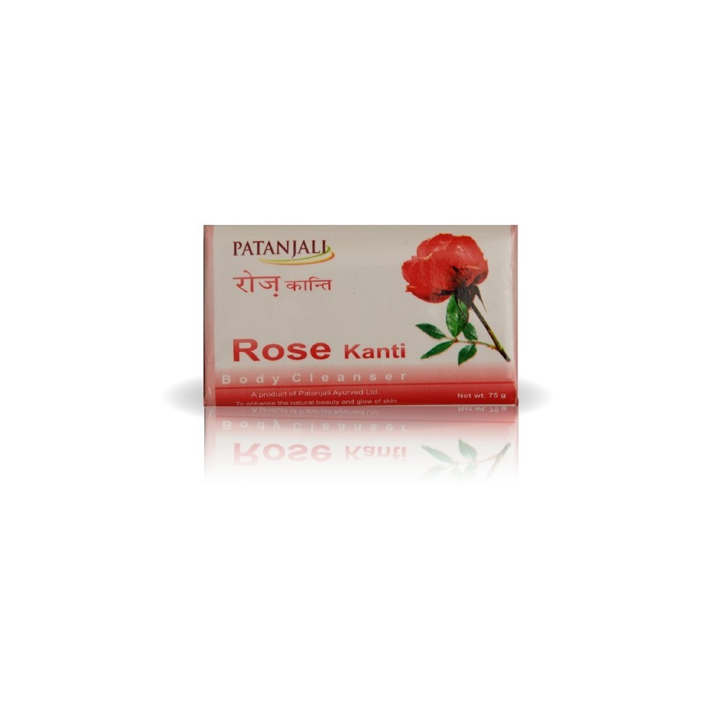 Patanjali ROSE BODY CLEANER SOAP, 125 gm