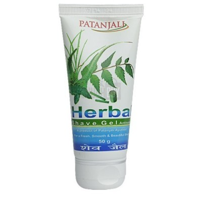 Patanjali HERBAL SHAVE GEL, 50 gm